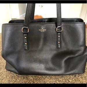 Kate Spade Black Leather Handbag